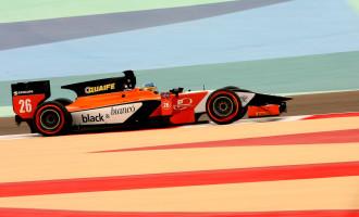 Adrian Quaife-Hobbs 2013 GP2 Sakhir circuit