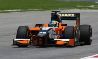 Adrian Quaife-Hobbs Silverstone GP2 2013