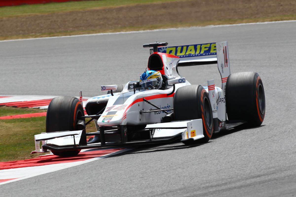 Adrian Quaife-Hobbs – Silverstone GP2 2014