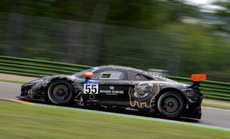 QUAIFE-HOBBS ON PODIUM FOR MICHELIN GT3 LE MANS CUP